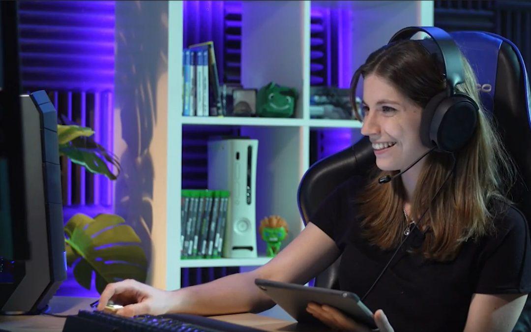 Encuentro con Lucía Guerra, experta en deportes electrónicos y autora de 'eSports, vive de tu pasión'